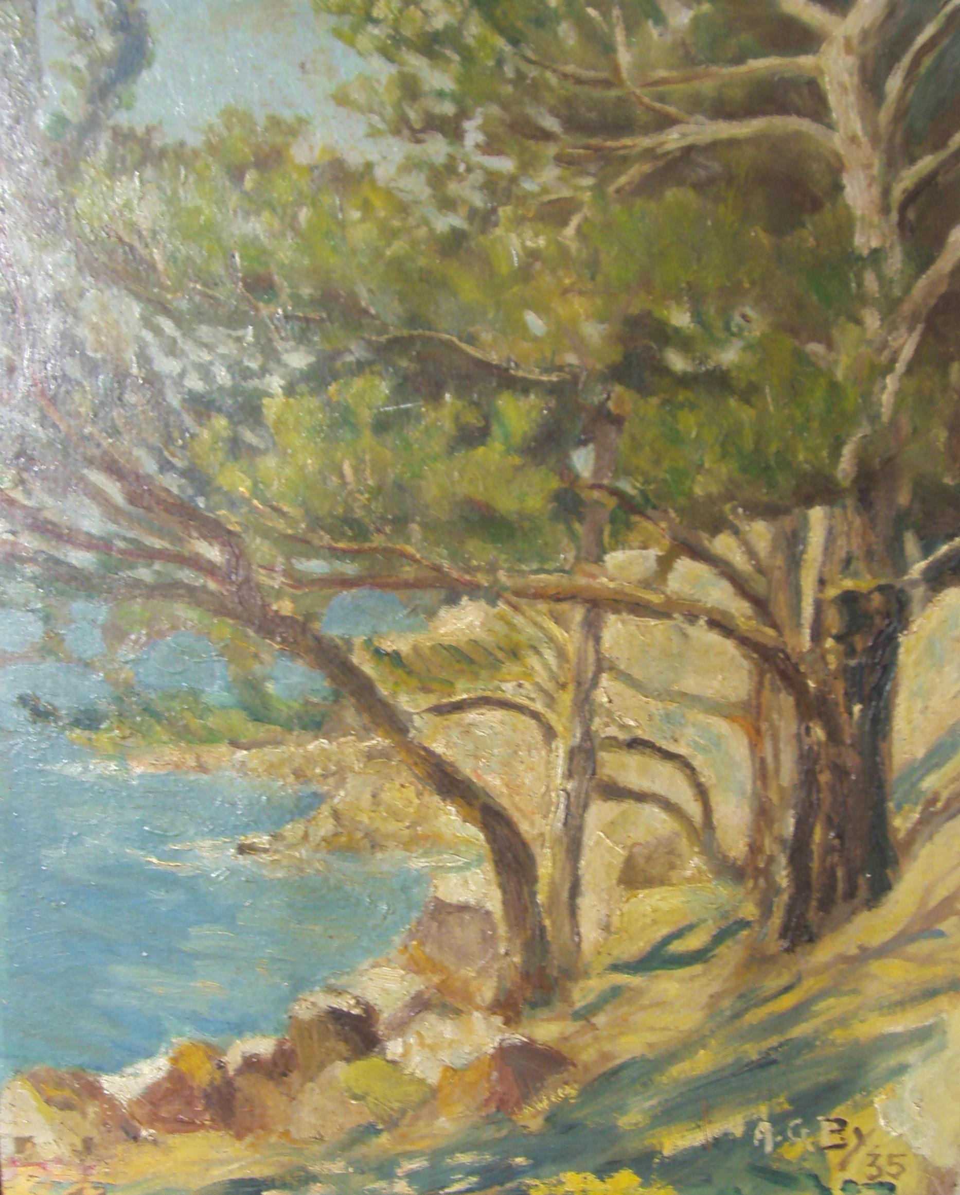 Peinture Auguste Barray