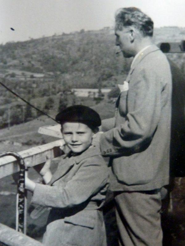 Jean-Paul Barray et son père