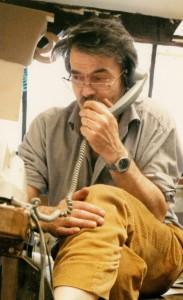 Jean-Paul Barray dans son atelier