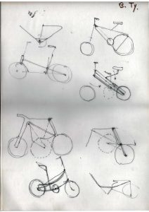 Croquis vélo